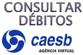 consultar débitos CAESB