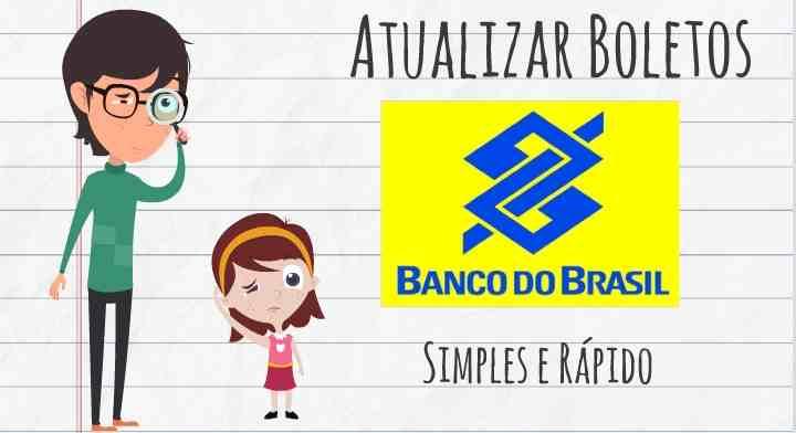 atualizar boletos banco do brasil