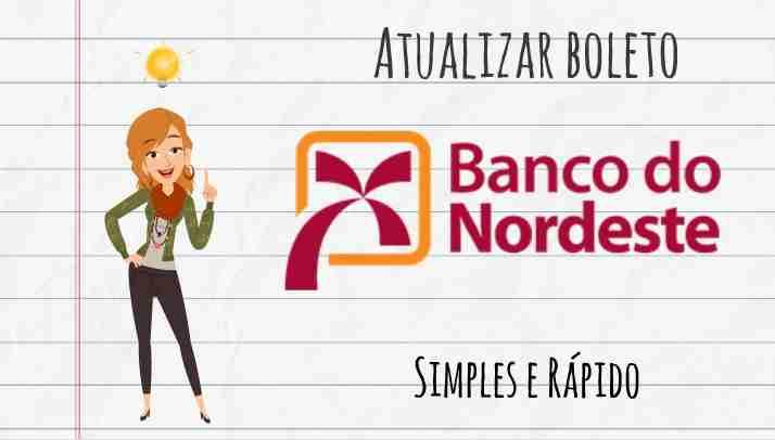 atualizar boleto banco nordeste