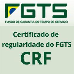 FGTS Certificado regularidade do FGTS CRF