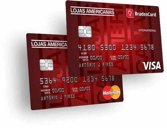 cartão de credito americanas
