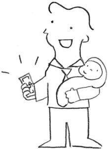parcelas auxilio maternidade