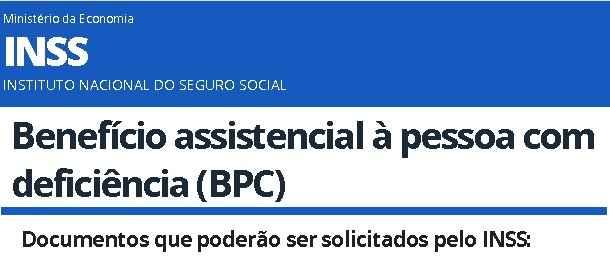 documentos bpc