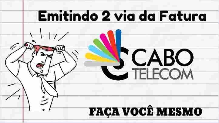 cabo Telecom 2 via fatura