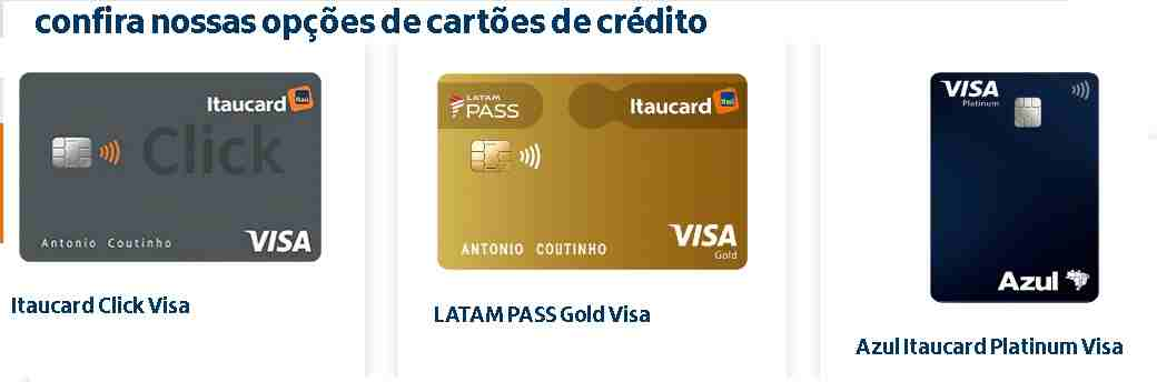 solicitar cartao itaucard